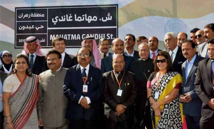 road in ramallah named after india as president visits