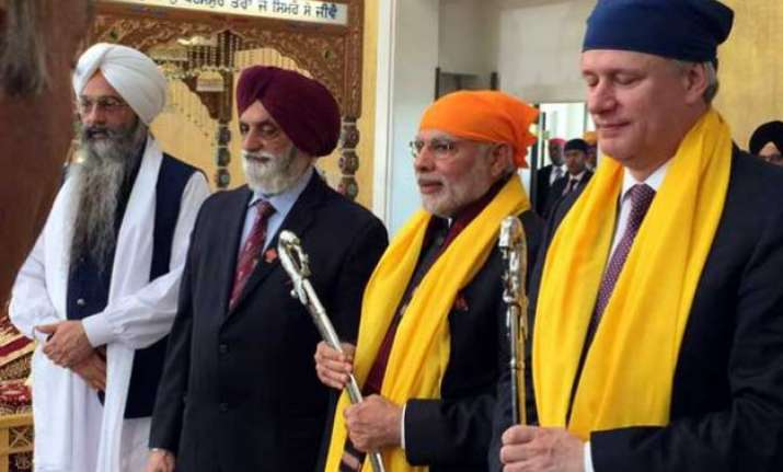 hinduism not a religion but a way of life pm modi in canada
