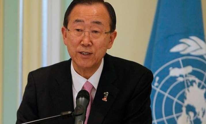ban ki moon welcomes peaceful transition in sl praises