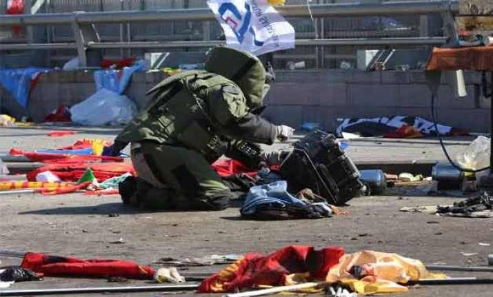 death toll in turkey s twin blasts rises to 95