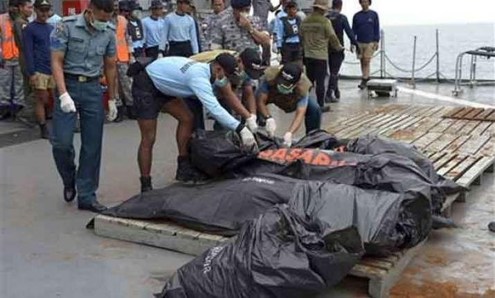 bodies of airasia victims unrecognisable