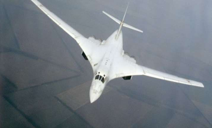 russia s modernised tu 160 fighter jet completes first