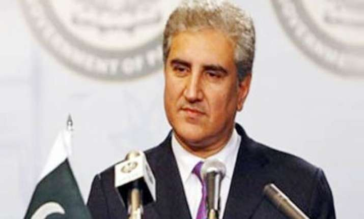 pakistan accepts indian aid offer qureshi