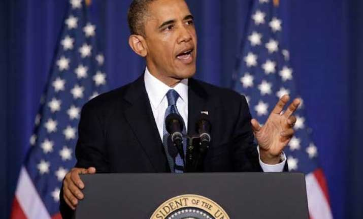 barak obama gives calming message says us prepared for ebola