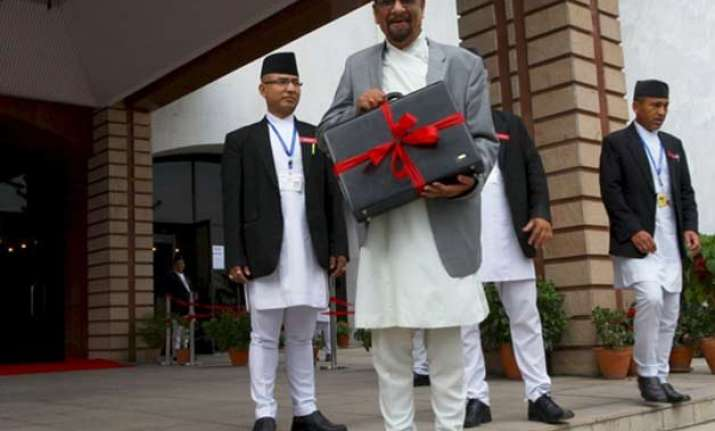 nepal announces its annual budget