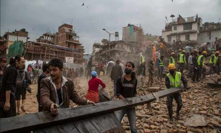 nepal economy shattered by quake recovery to take years