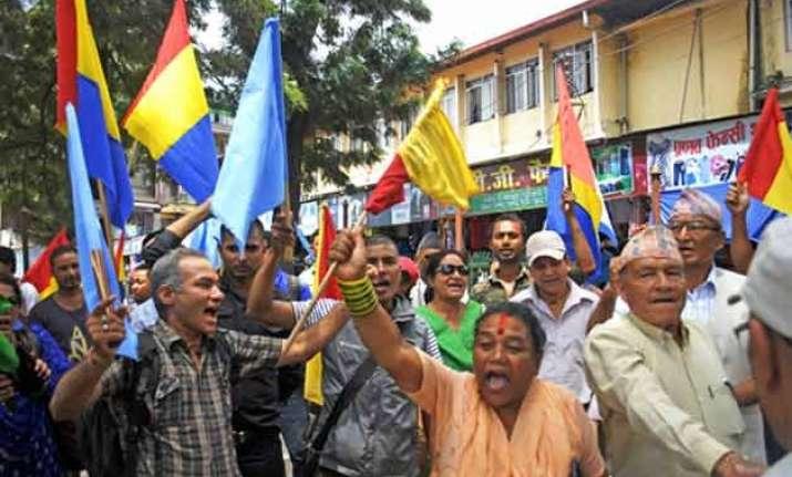 muslims in nepal demand a hindu state