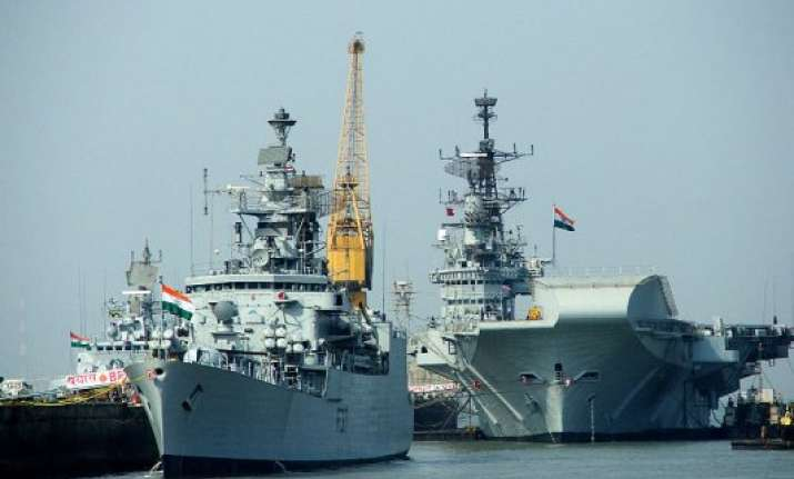 indian naval ships on east africa deployment