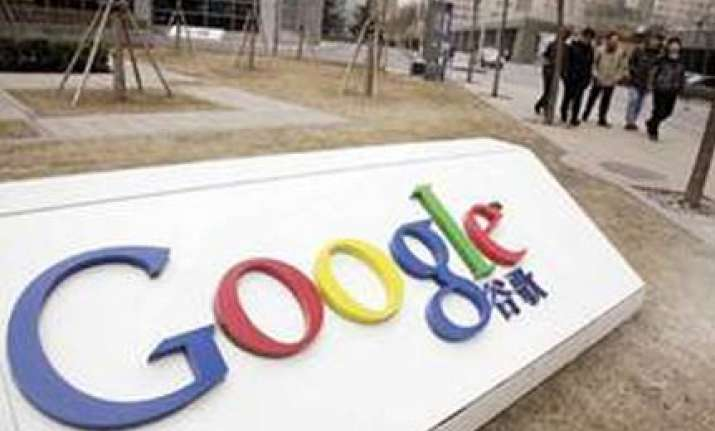 google and china in a new row as company stops web