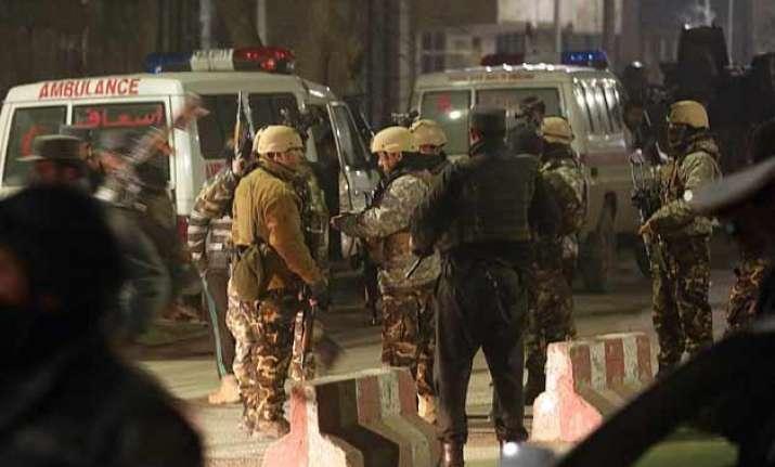 gunfight outside indian consulate in mazar e sharif ends