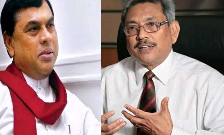 complaints against rajapaksa brothers police probe launched