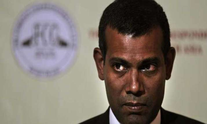 i am not a terrorist nasheed tells maldivian court