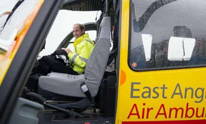 prince william starts air ambulance pilot job