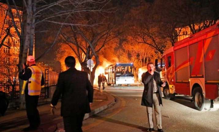 at least 28 dead 61 injured in ankara bombing