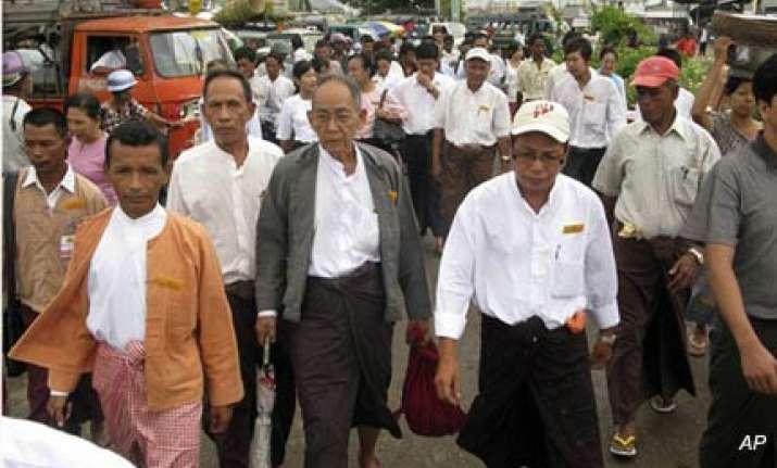 myanmar warns subversives ahead of elections