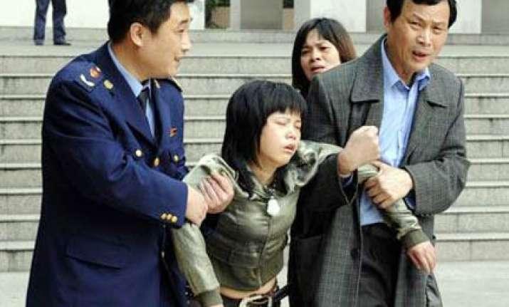 doctor hacks eight children to death in china school