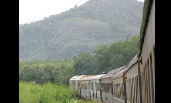 china begins work on rail link upto arunachal