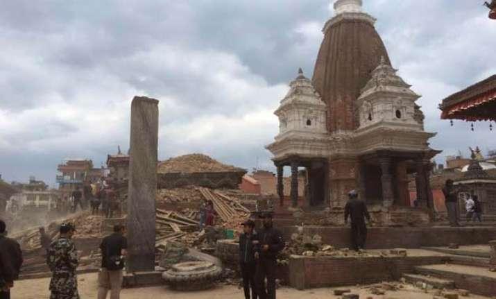 ancient jewel studded vest missing after nepal quake