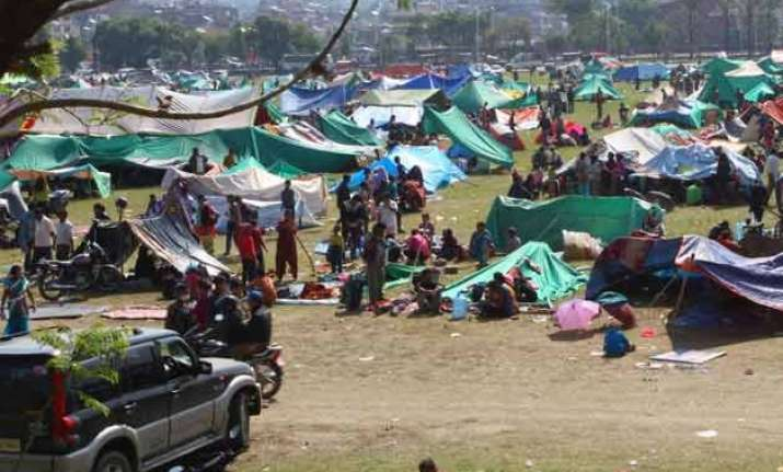 nepal govt renews its appeal for more tents food supplies
