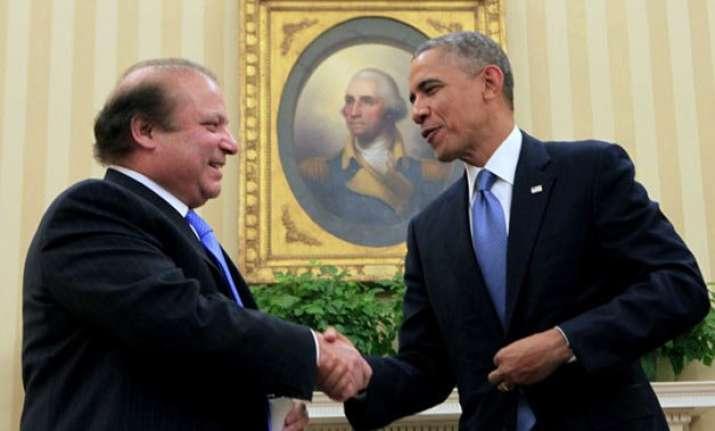 pakistan seeks to shift obama sharif talks focus to india
