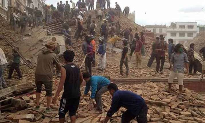 over 125 indians stranded in nepal due to earthquake