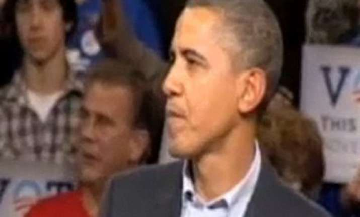 angry obama yells at hecklers