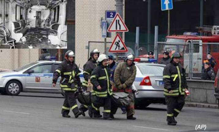 38 killed in suicide attacks on moscow metro