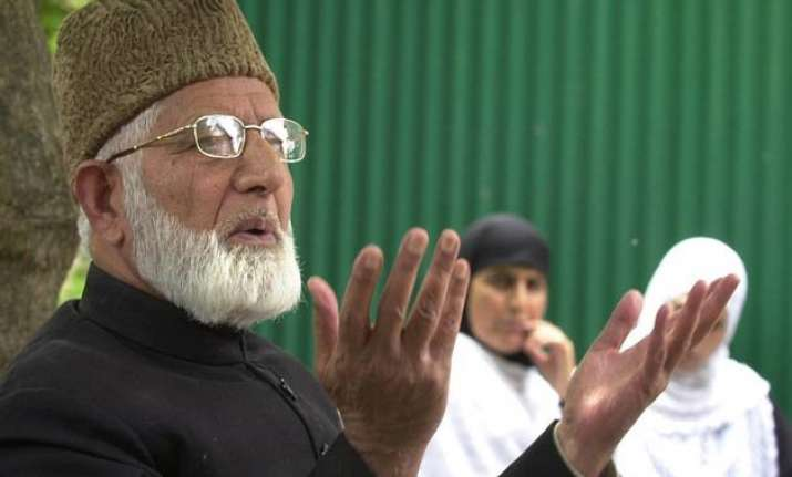 unfortunate that geelani unable to see ailing daughter
