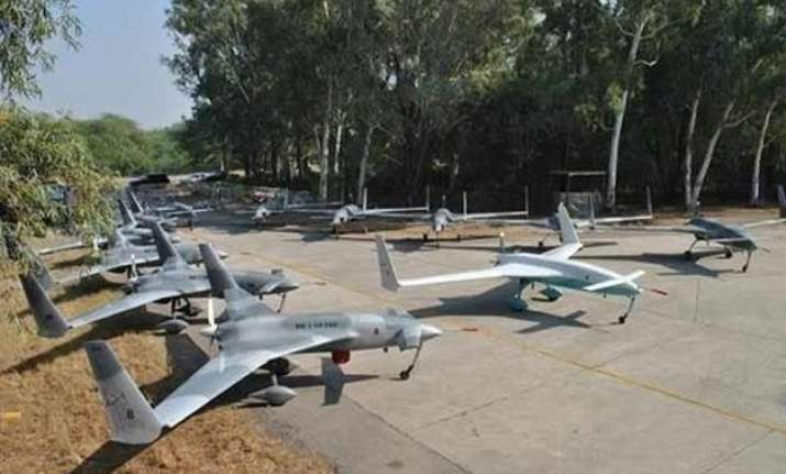pak test fires first indigenous armed drone laser guided