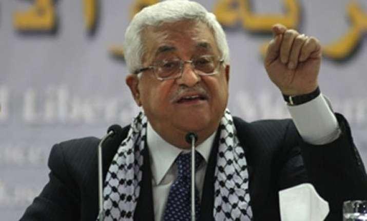 palestinian president suggests banning jews at jerusalem