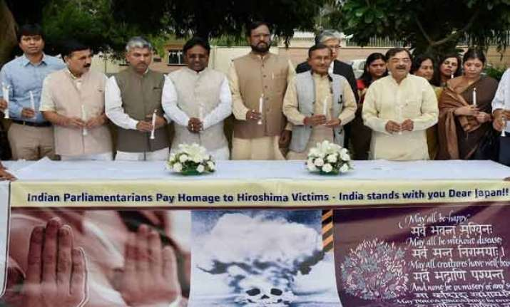 grateful to india for remembering hiroshima victims japan