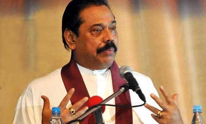 mahinda rajapaksa to contest parliamentary election