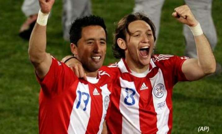 paraguay beat japan 5 3 in penalty shootout book maiden wc