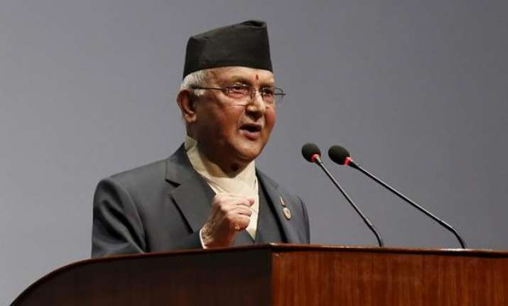 will not visit india until blockade is lifted nepal pm