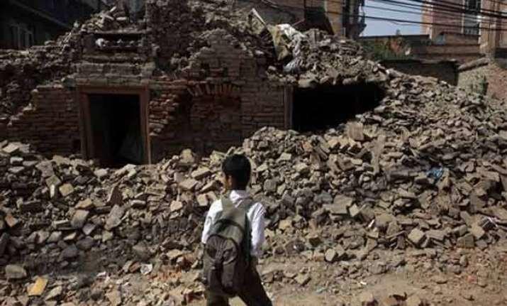 schools reopen in quake devastated nepal