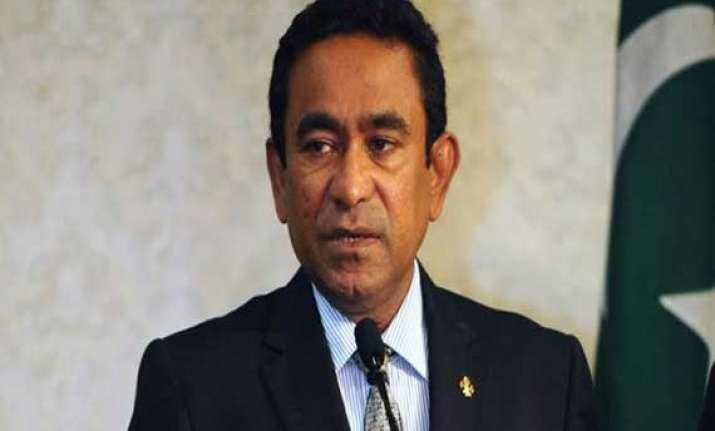 maldives arrests ex president under anti terrorism laws
