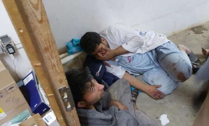 at least 16 killed at afghan hospital after us air strike