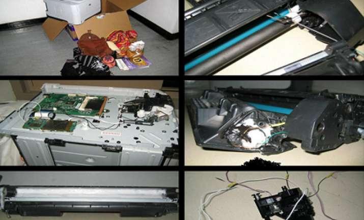 dubai parcel bomb was flown on two passenger planes was