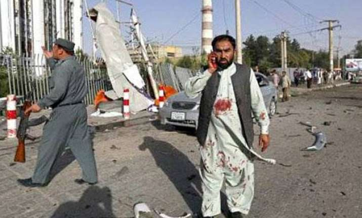 suicide attack near india consulate in afghanistan 6 cops