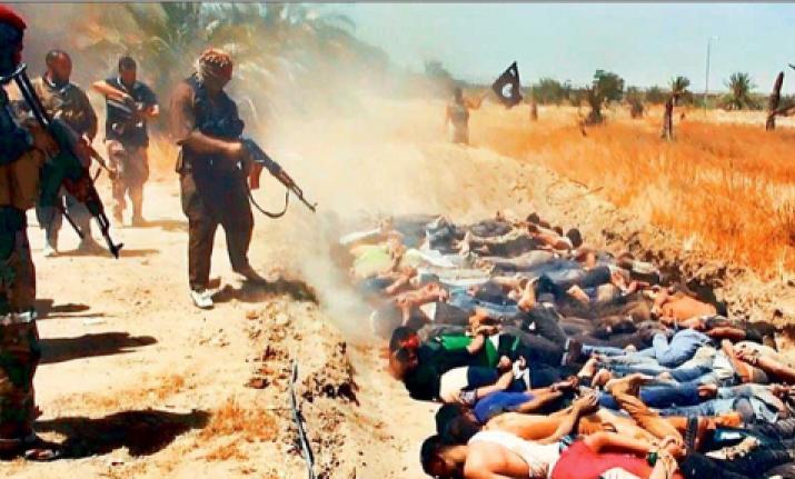 isis terrorists executes 30 tribesmen in iraq
