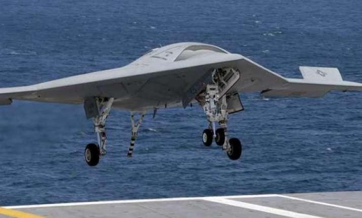 us drone completes sea based test flight