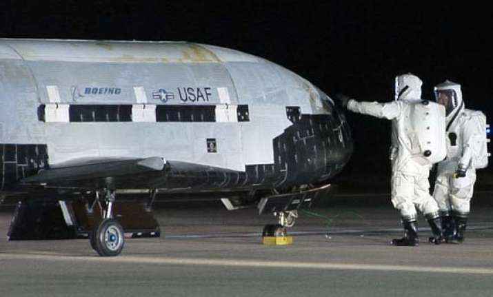 mysterious space plane lands on california coast after 674