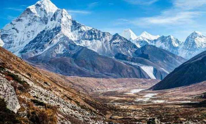 himalayas subsided by 60 cm after nepal quake