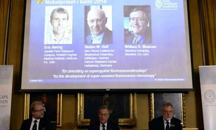 three get nobel prize in chemistry for nanoscopy work