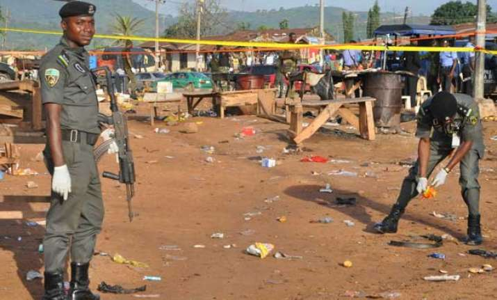 nigeria suicide bombers kill 40 including in 2 mosques