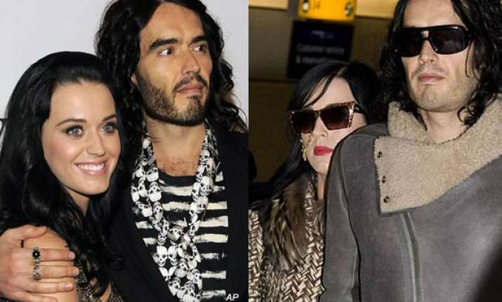 katy perry performs hindu wedding with russell in jungle