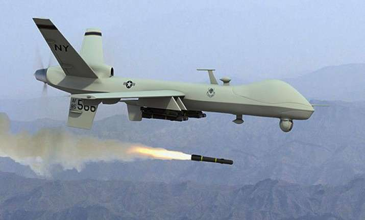 drone strike kills 2 militants in northwestpakistan