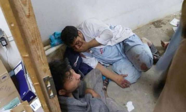afghan hospital bombing toll rises to 22