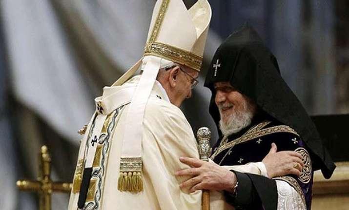 turkey recalls ambassador over pope s armenia genocide words