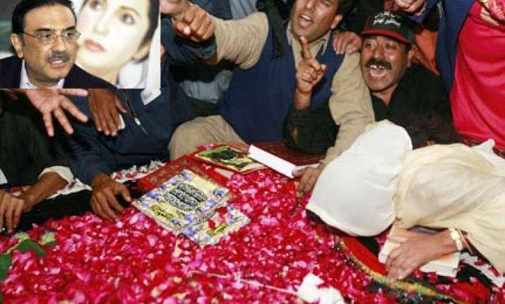 zardari asks un to defer benazir probe report till april 15